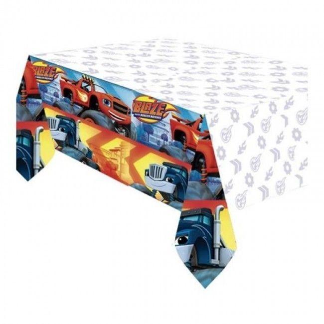 Toalha de Aniversário do Blaze and The Monster Machine
