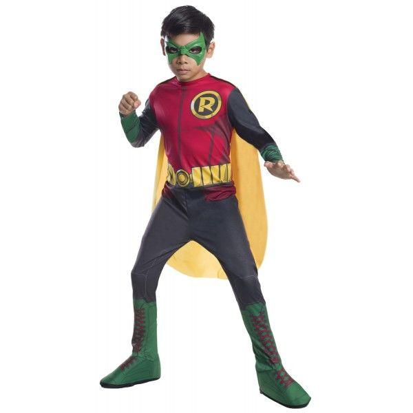 Fato de Robin, o Justiceiro - Batman Classic para menino