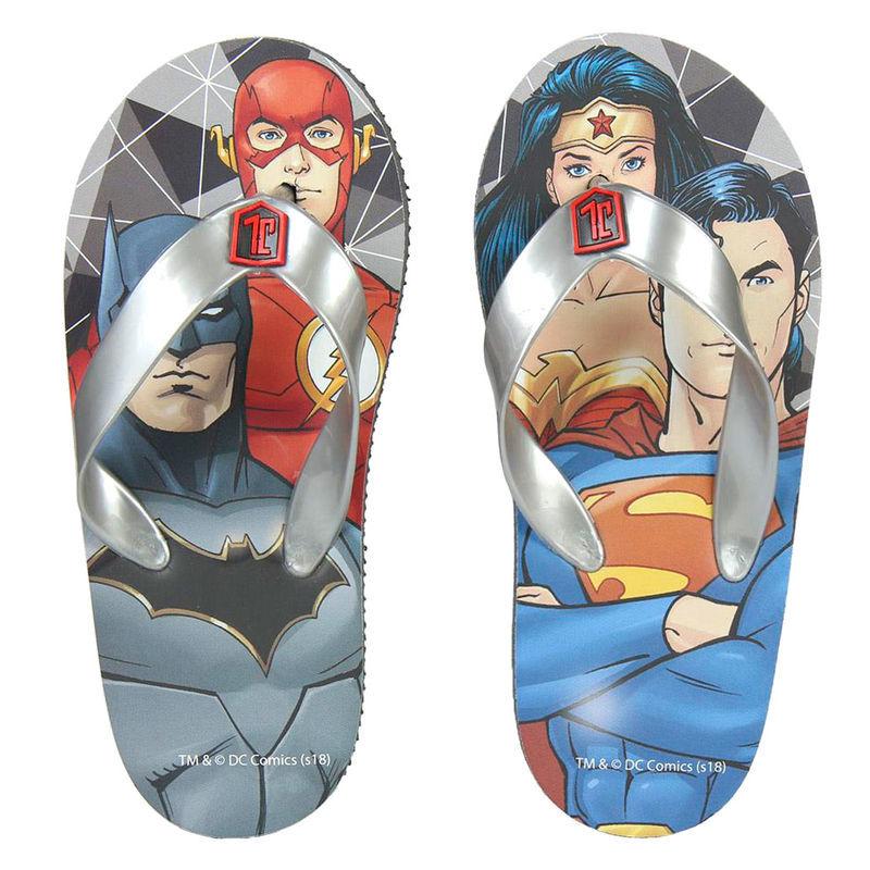 Chinelos de praia Liga da Justiça DC Comics
