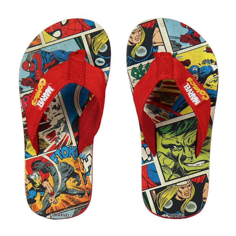 Chinelos de praia Vingadores Avengers Marvel Mosaic Premium