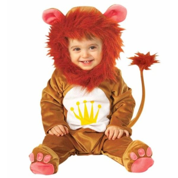 122ae02d4 Fato carnaval de leão de peluche para bebé