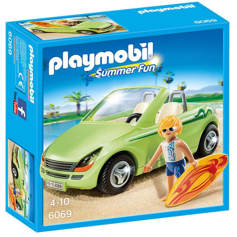 Playmobil -Surfista com Descapotável