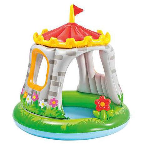Piscina Insuflável para Bebé em forma de castelo
