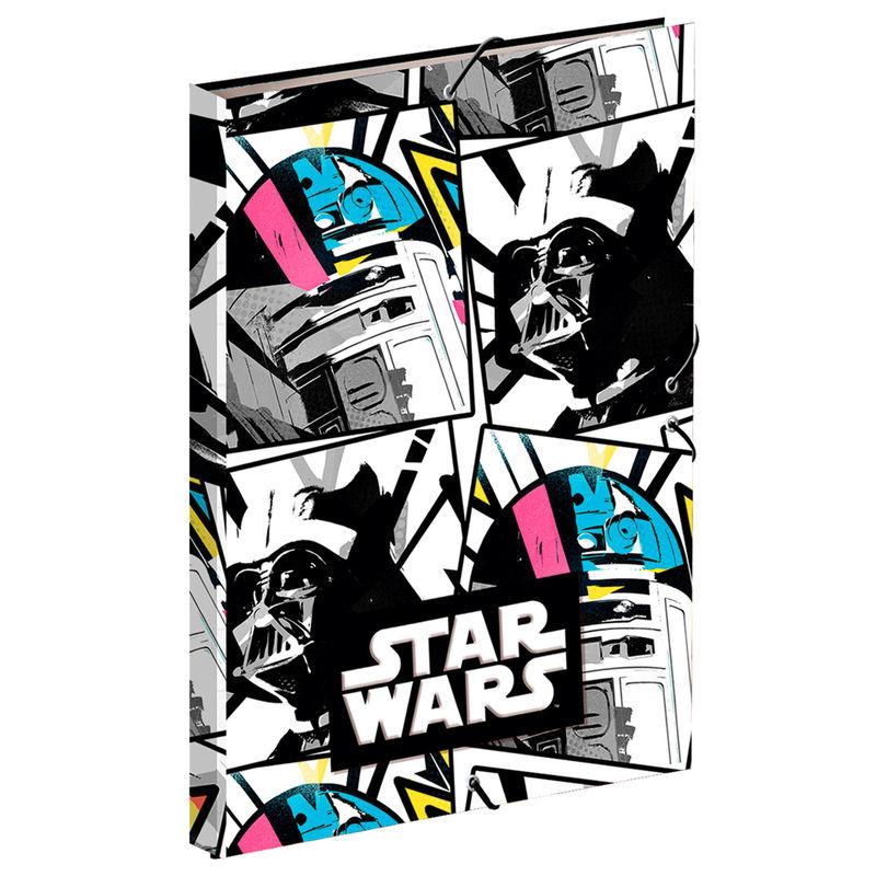 Capa A4 com elástico Star Wars
