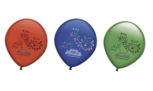 Pack de 8 unidades de Balões PJ Masks