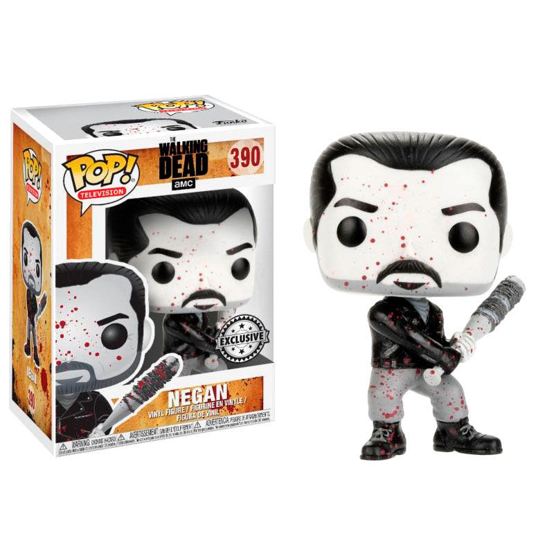 Figura POP vinil -  Walking Dead  Negan - Black & white