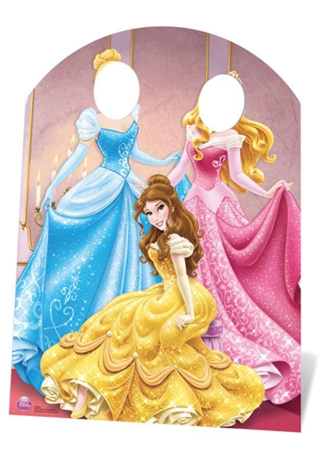 Figura em cartão de Princesas Disney 1.27cm