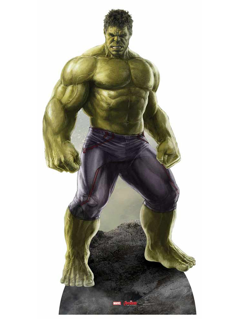 Figura em cartão de Hulk 1.90cm