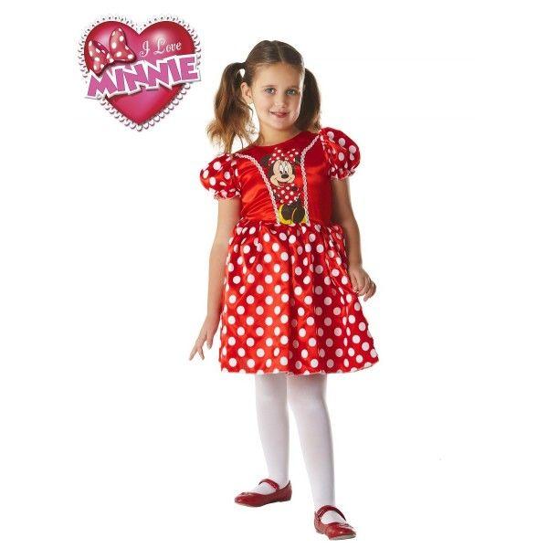 Fato de Minnie Mouse Classic Vermelha