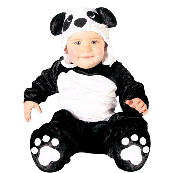 997efcedd13d Disfarce - fato carnaval de urso panda para bebé