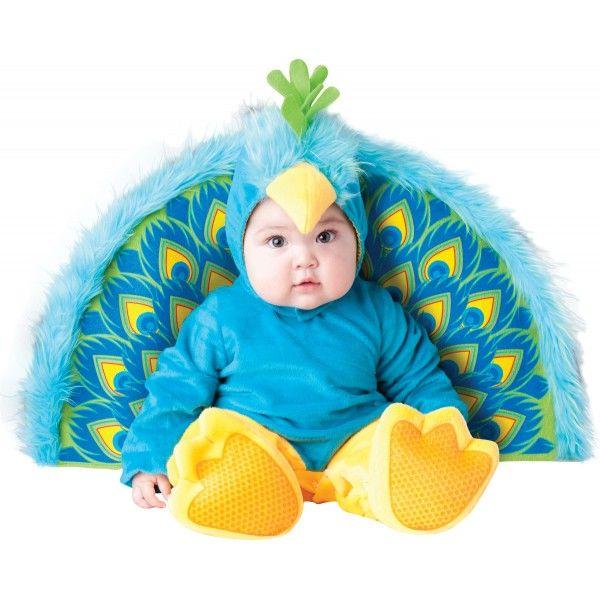 b987e33c6 Disfarce carnaval de pavão real para bebé