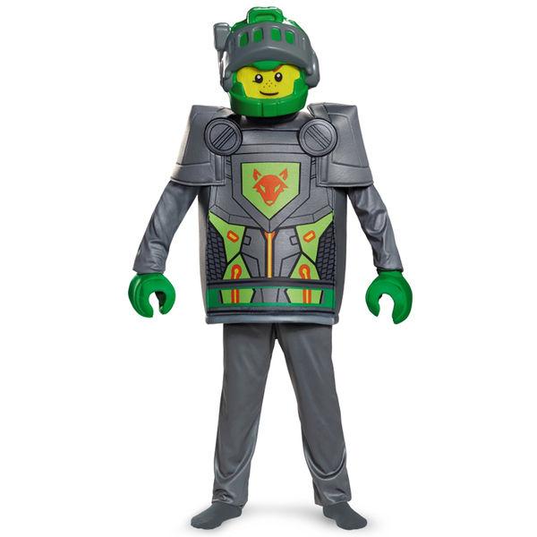 Fato carnaval de Aaron Lego Nexo Knights deluxe para menino;