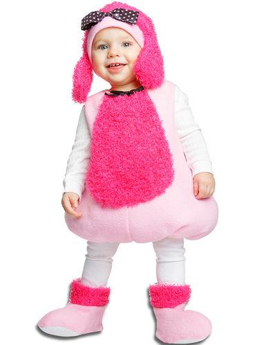 44360e09d Fato - disfarce carnaval cachorrinho cor-de-rosa para menina