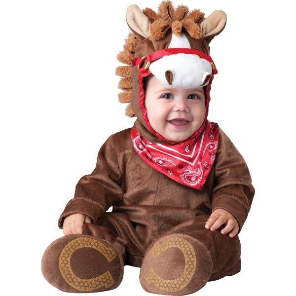 Fato Carnaval de pónei brincalhão para bebé
