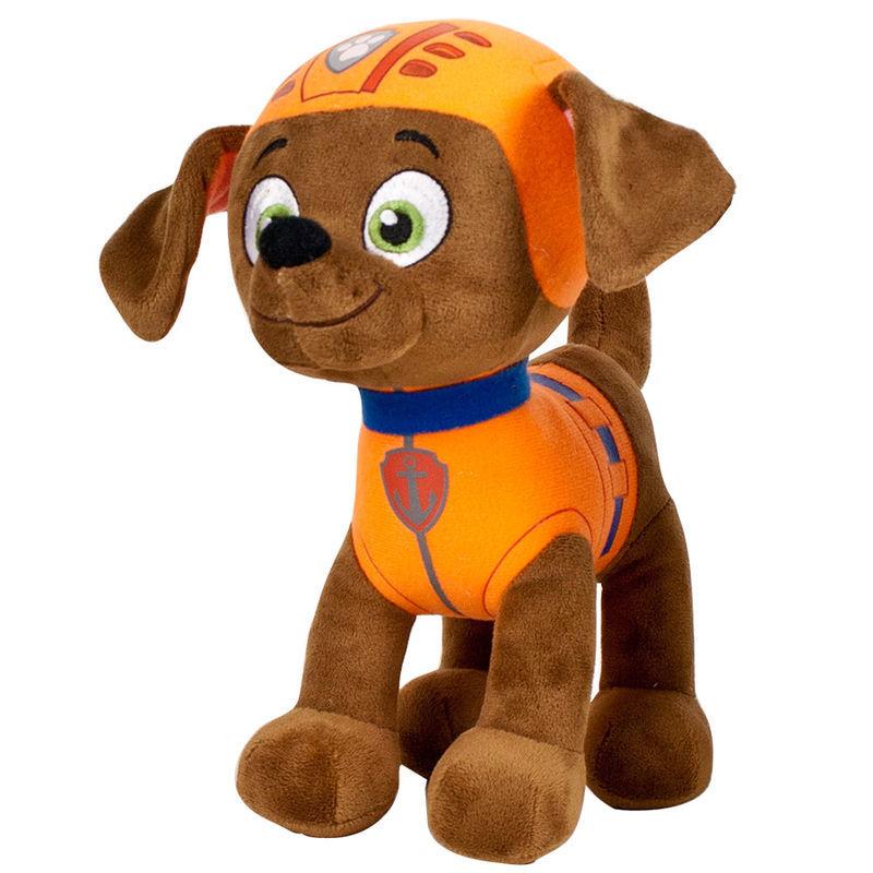 Peluche Zuma Patrulha Canina Paw Patrol 35cm